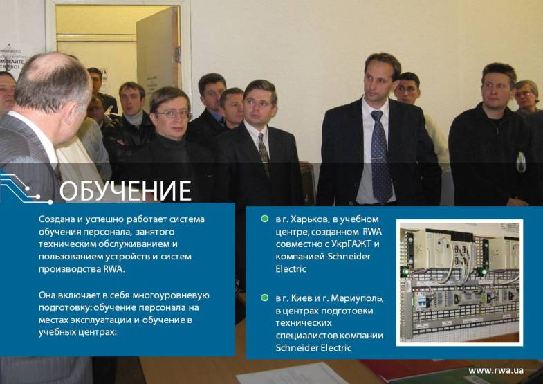 Презентація компанії RWA