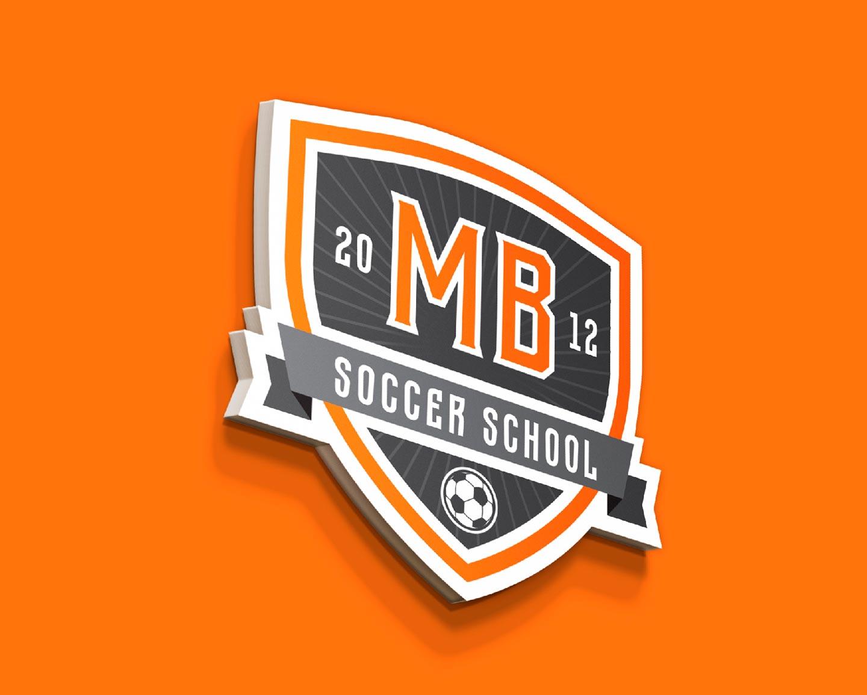 Редизайн логотипа MB Soccer School