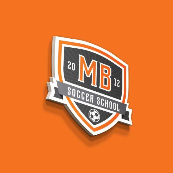 Логотип для футбольной школы «Мастер мяча»
