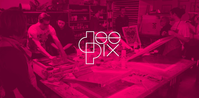 Комплекс работ по брендингу для DEEPIX