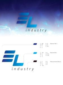 Логотип El Industry