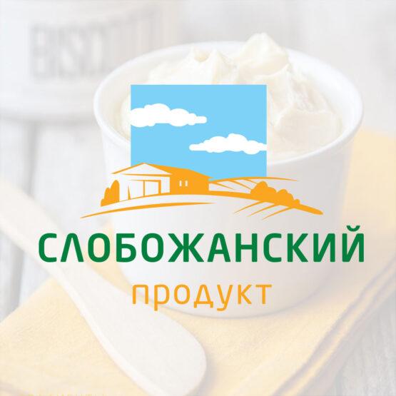 """Разработка лого для """"Слобожанский продукт"""""""