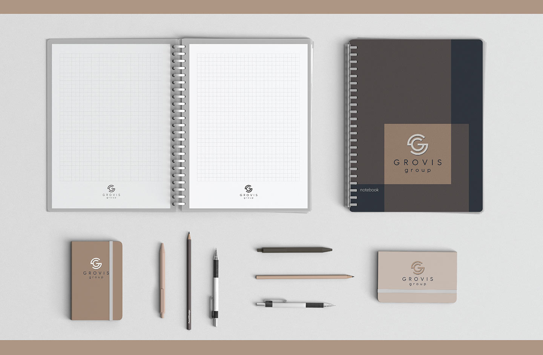 Grovis Group - разработка фирменного стиля
