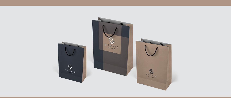 Grovis Group - фирменные пакеты