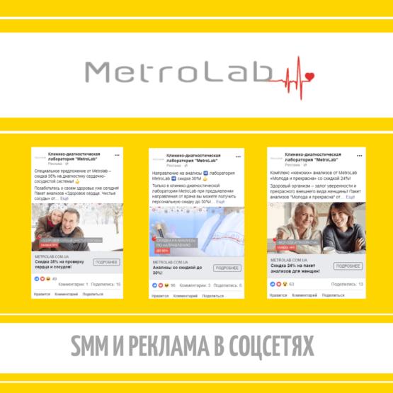 Metrolab - продвижение в соцсетях