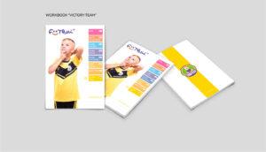 Дизайн дневников для клубов Footbik