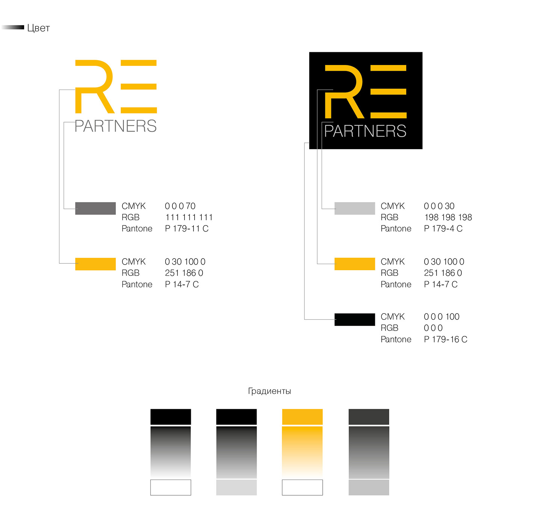 Логотип для компании Re Partners
