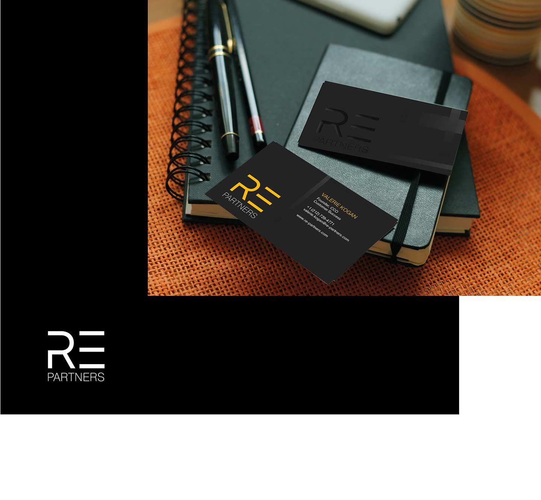 Создание логотипа для Re Partners