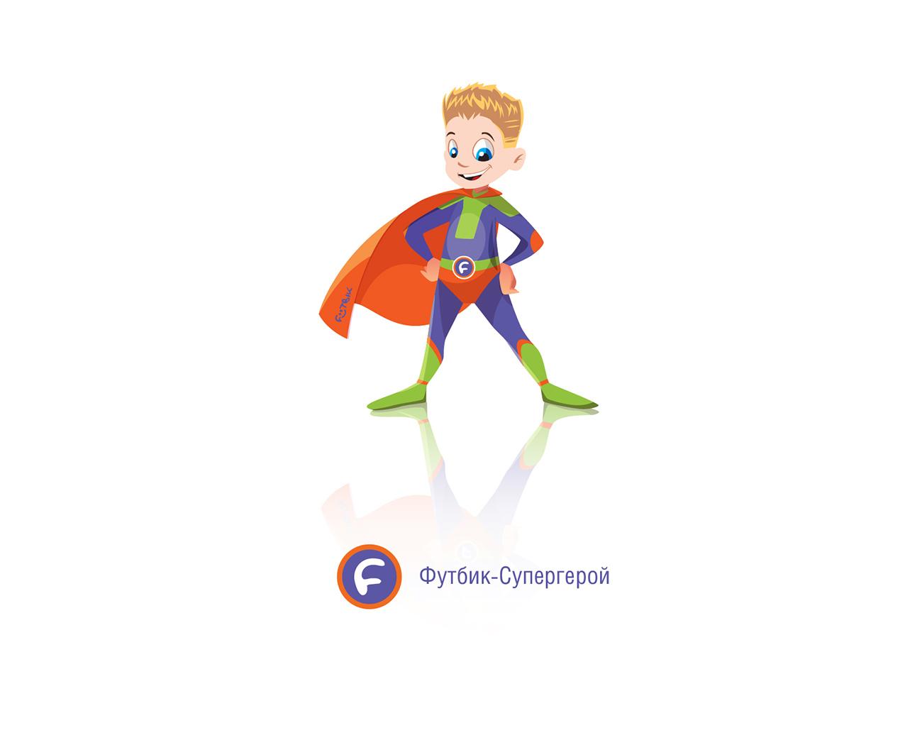 Иллюстрации «Футбик – Супергерой»