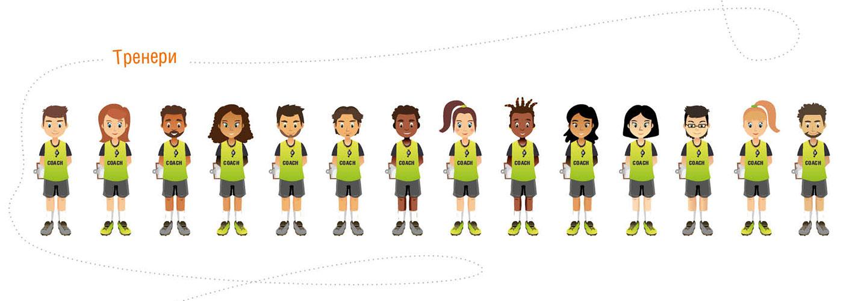 Изображения тренеров Footbik Team