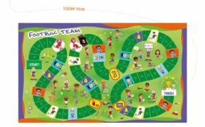 Дизайн игрового поля Footbik Team