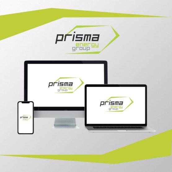 Анимированный логотип для Prisma Energy Grup