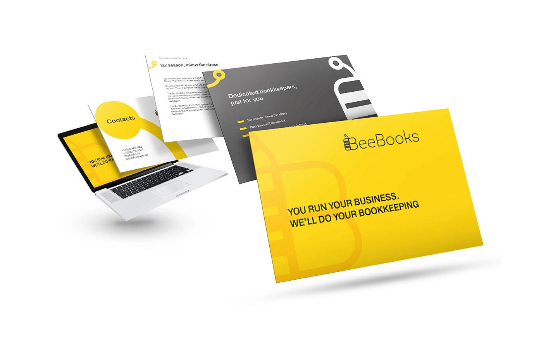 BeeBooks - дизайн элементов сайта