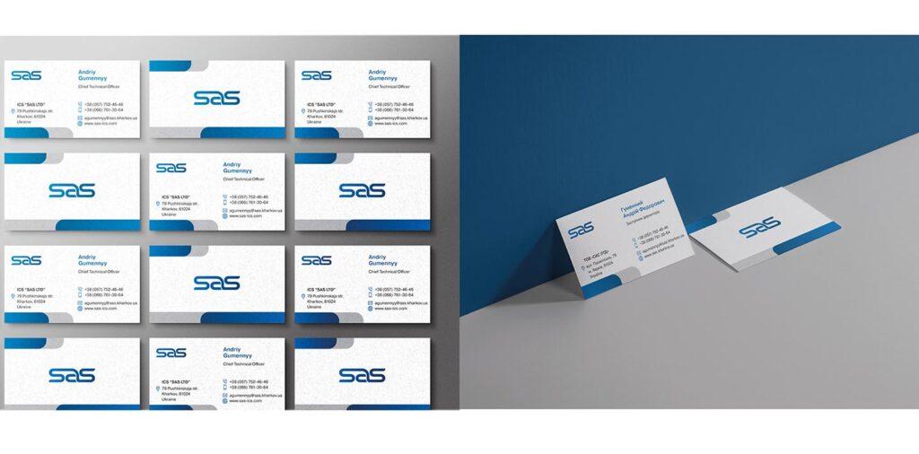 Редизайн SAS - фирменный стиль