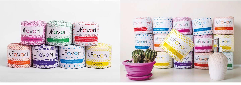 Бренд-дизайн упаковки – торговая марка uFavori