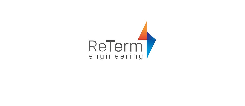 Нейм и логотип РеТерм - реконструкция инженерных сетей