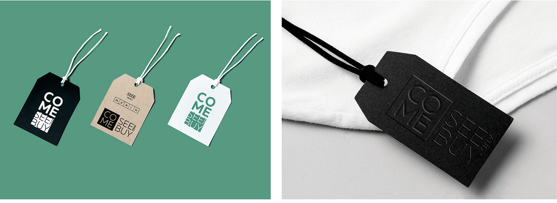 Логотип бренда производителя одежды